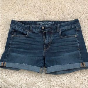 American Eagle Super Stretch Midi Shorts